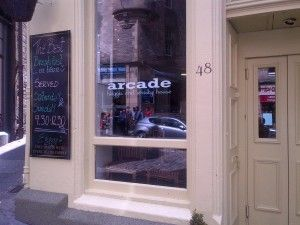 Good for haggis, and good for lunchtime wraps, in quirky surroundings