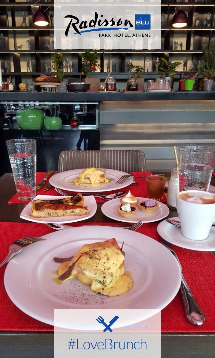 It's #brunch o' clock, the best time of the weekend at Radisson Blu Park Hotel Athens! Bon Appétit!  #LoveBrunch #Athens #Sunday
