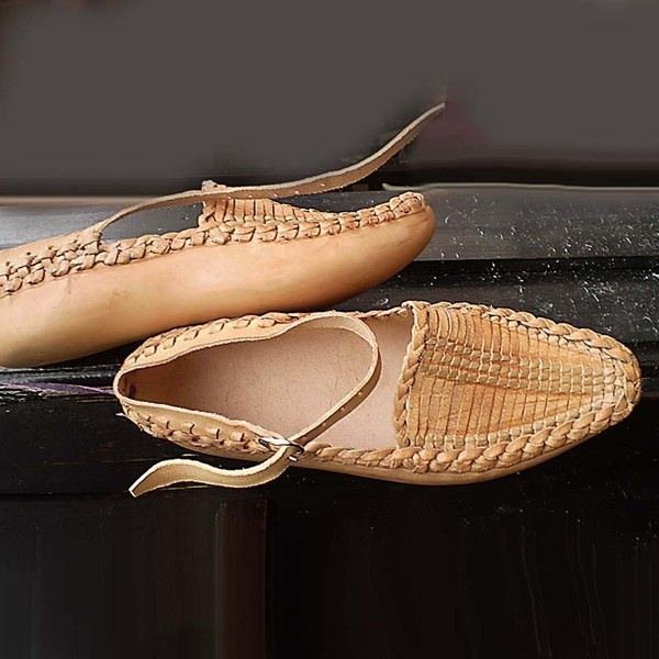 Traditional Leather Opanak Shoes