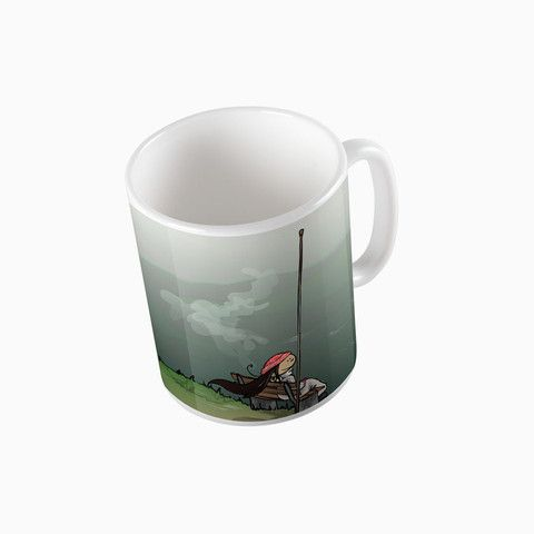 "#rainydays ""Where the clouds are born"" mug - available on The Mutiny, design by #MaraLiem http://wearethemutiny.com"
