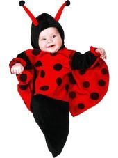 Kaity's possible 1st Halloween costume - Baby Ladybug Baby Bunting Costume-Party City