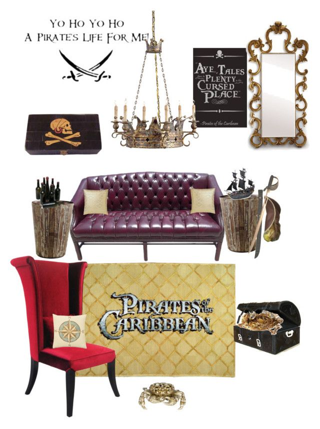 Disneyhome Pirates Of The Caribbean Inspired Living Room