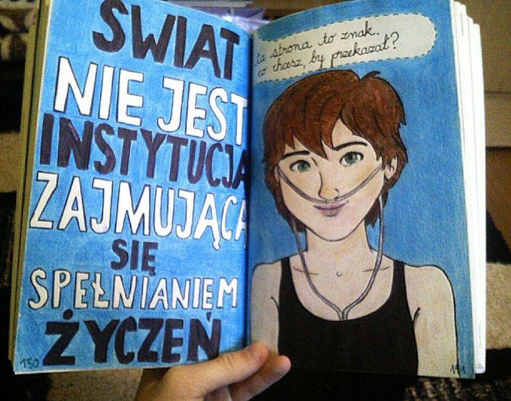 Podesłała Natalia Stróż #zniszcztendziennikwszedzie #zniszcztendziennik #kerismith #wreckthisjournal #book #ksiazka #KreatywnaDestrukcja #DIY