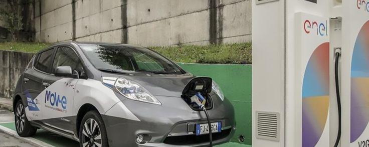 Nissan, ENEL e IIT per l'auto elettrica in Grid