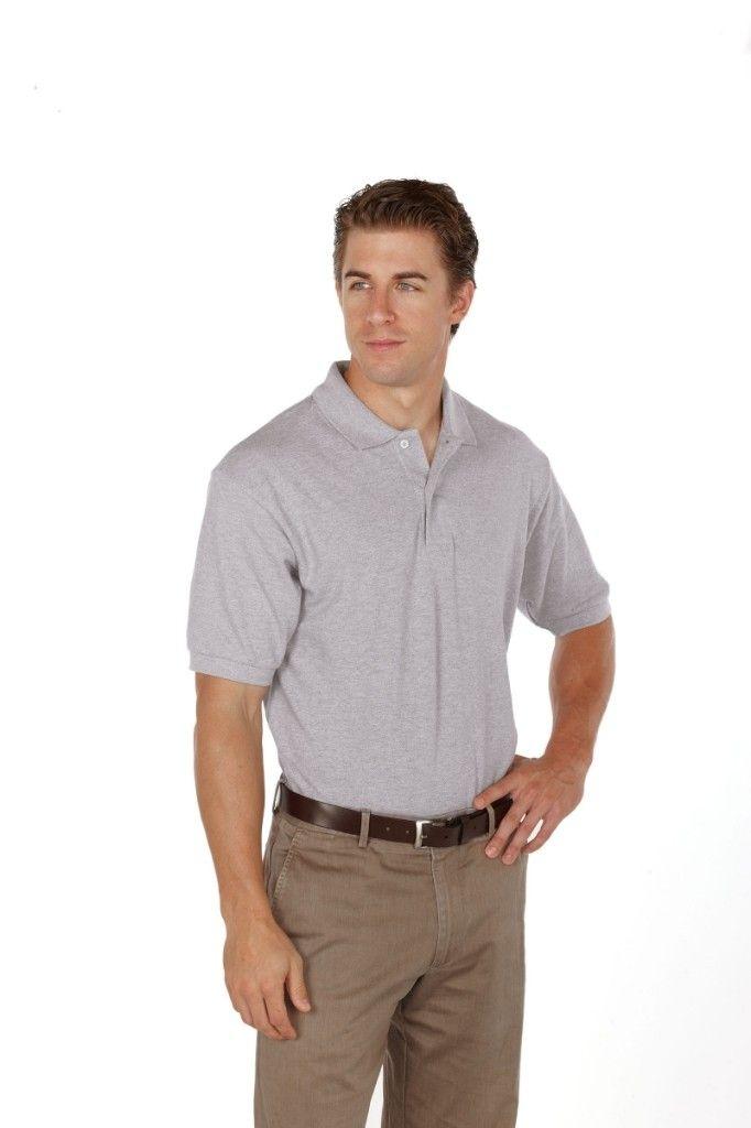 Big Mens Reebok Superior Basic Pique Polo by Reebok™