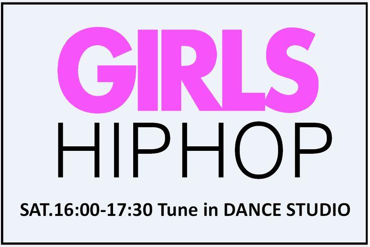 【土曜16時】『ガールズヒップホップダンス』 http://www.tunein-creative.com/girls-hip-hop/ 女の子らしさ重視のヒップホップ。ダンスを踊るための基礎をしっかり丁寧にレッスンしていきます。一緒に楽しく踊りましょう!