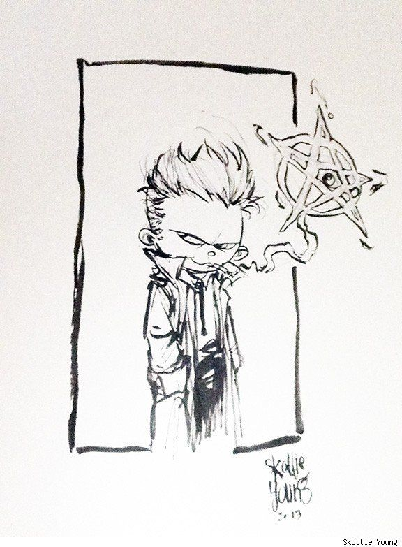 John Constantine by Skottie Young from the collection of Chris Hargett