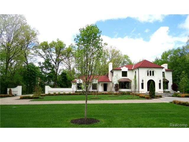 Beautiful Home In Bloomfield Hills Mi Contact Us For