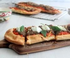 Middle Eastern Lamb Pide  | Thermomix | @Cancer Council