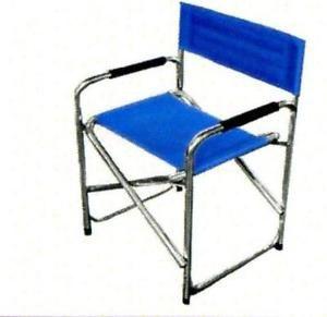 a sedia pieghevole mod regista arancio in alluminio poltrona richiudibile
