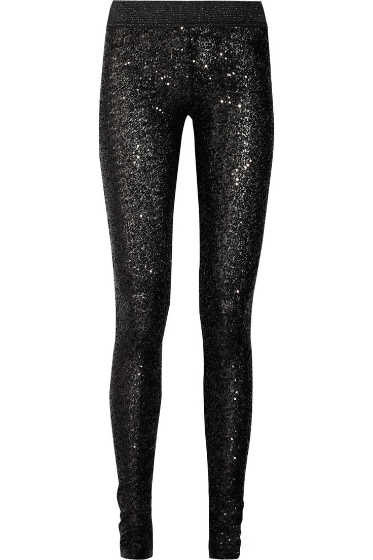 Sass & bide|One by One sequined leggings|NET-A-PORTER.COMBlack Sequins, Inspiration Wardrobes, Fashion Inspiration, Black Elastic, Leggings Nets A Porter Com, Beautiful Style, Legs Nets A Porter Com, Rocker Style, Dreams Closets