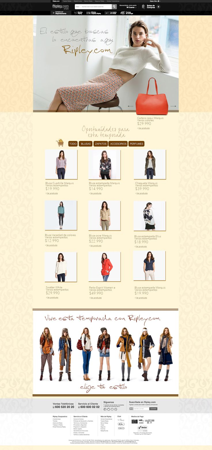 Moda Mujer - Web Retail