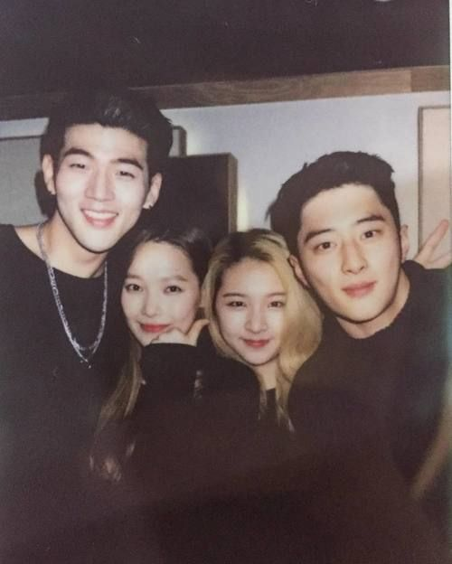 k.a.r.d, bm, and jiwoo image