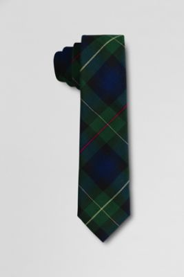 Adult To-be-tied Plaid Necktie from Lands' End At 40% off, it's $12!