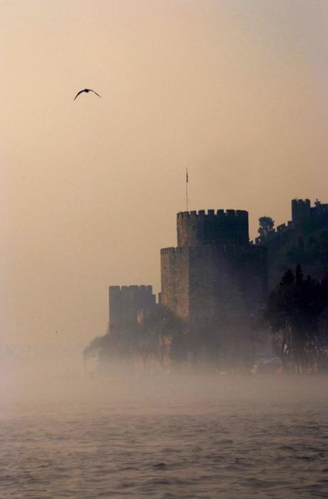 Misty Istanbul