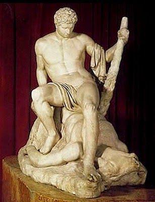 I Letterandi: Antonio Canova- Teseo sul minotauro