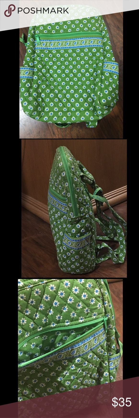 NWOT Vera Bradley Apple Green Backpack New without tags, Vera Bradley Backpack. Style is Apple Green. Only available here BRAND NEW!! Get it while supplies last! Vera Bradley Bags Backpacks