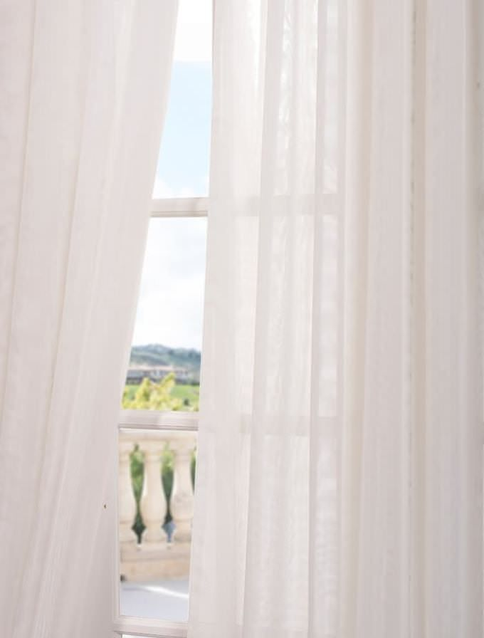 About white sheer curtains on pinterest white bed comforters sheer
