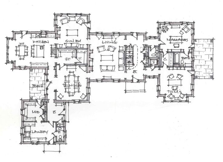 88 best plans images on pinterest floor plans house for Zimmerman house floor plan