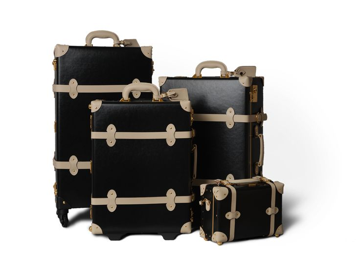 The Alchemist Collection | Metalic hat box Briefcase Overnighter Carry-on Stowaway Suitcase | Steamline Luggage