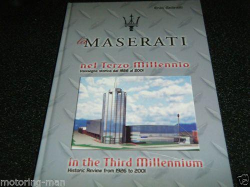 MASERATI-1926-2001-THRID-MILLENNIUM-1998-3200-GT-GIUGNO-SPYDER-250F-150S-CARLO