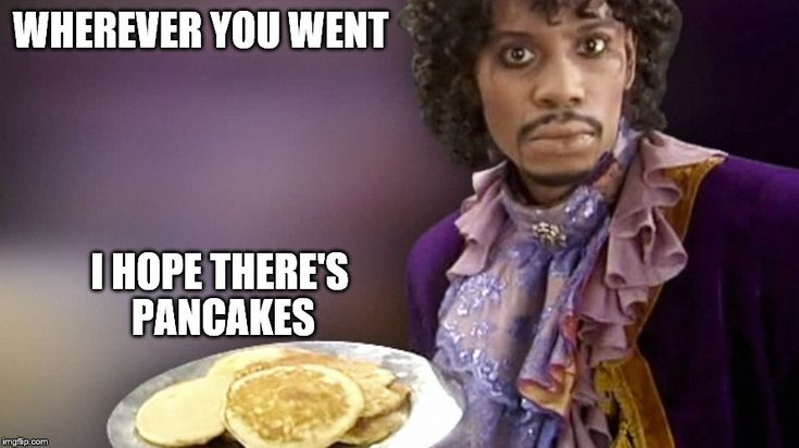 Dave Chappelle Prince Pancakes