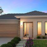 Planos de casas con garage doble al costado
