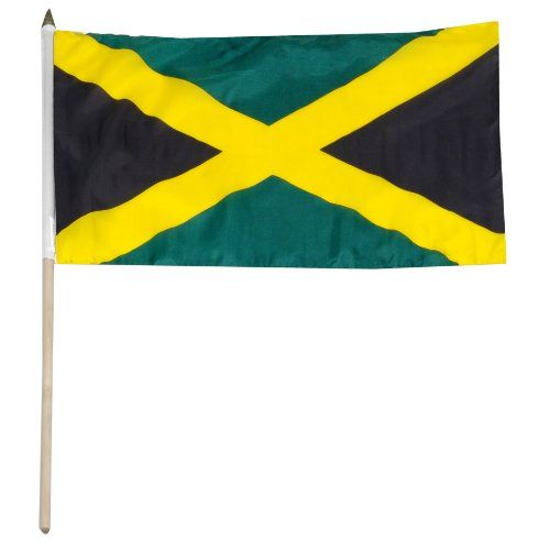 Save $ -1.75 when you buy US Flag Store Jamaica Flag, 12 by 18-Inch at Patio Fur