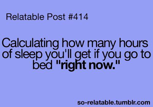 always doing this