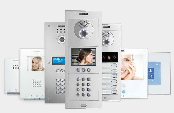 Gama de Placas videoportero  y Monitores Fermax #fermax, #cityline,#sertectelecomunicacions,#comunidaddepropietarios,#