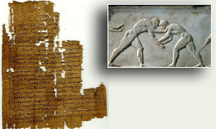 Papyrus describes ancient Greek wrestling match – and it was FIXED