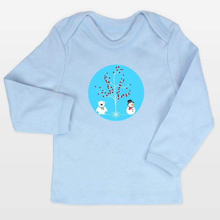 Shop for unique nursery art like the winterland Infant Long-Sleeve T-Shirts by haroulita on BoomBoomPrints today!  Customize colors, style and design to make the artwork in your baby's room their own!