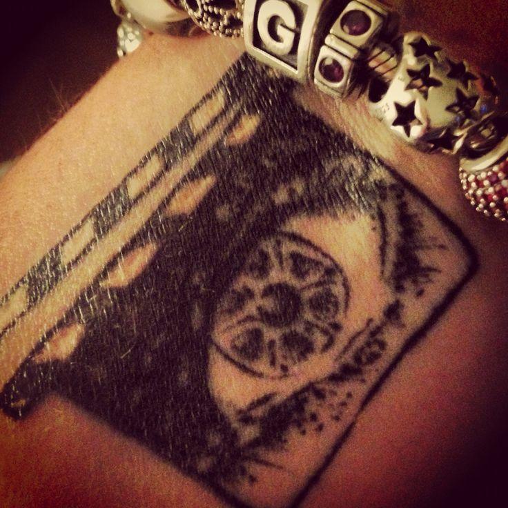 tetování na zápěstí