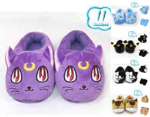 Totoro-FAIRY-TAIL-Slippers-Pocket-Monster-Monokuma-plush-toy-free-size