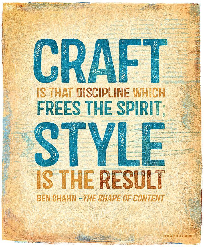 Ben Shahn Quote