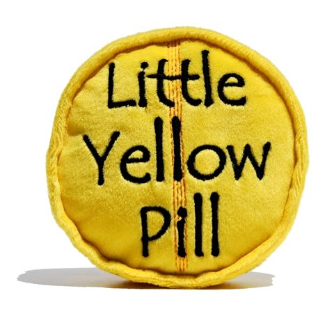 Image result for little yellow pill