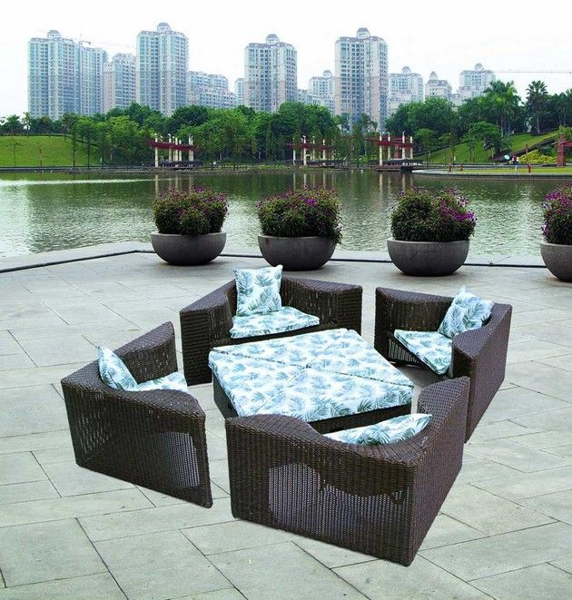 Image Detail For  Outdoor Furniture/Rattan Sofa   Sell Outdoor Furniture On  .