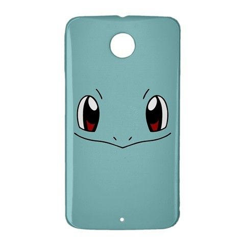 Squirtle Pokemon GO Google Nexus 6 Case Cover