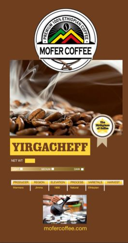 Yirgacheffe Ground  Coffee