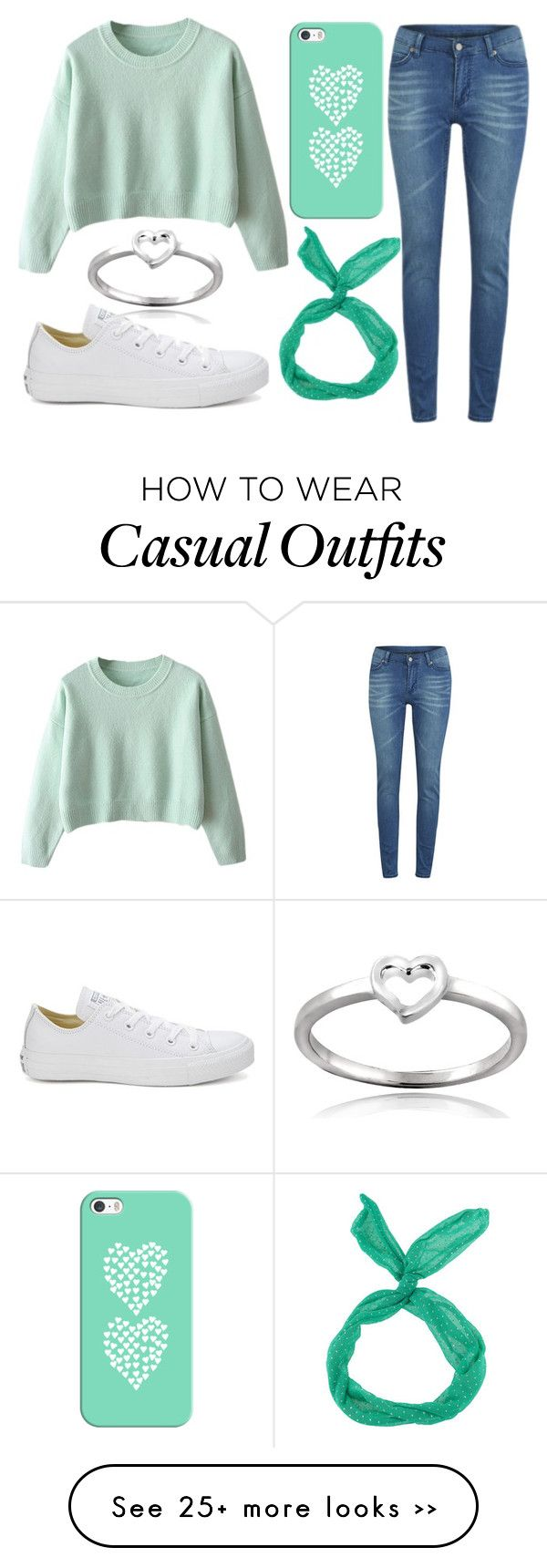 """Casual #44"" by mjgurr on Polyvore featuring Cheap Monday, Casetify, Converse and Mondevio"