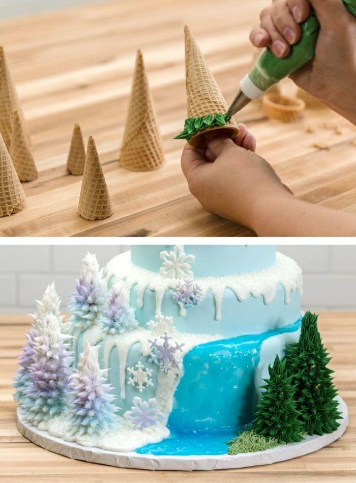 les 25 meilleures idées de la catégorie gâteau reine des neiges