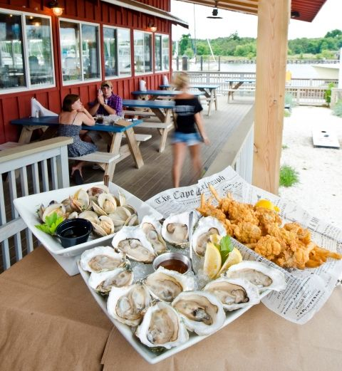 They Shanty in Cape Charles is the perfect place for fresh, local seafood, according to Coastal Virginia Magazine.