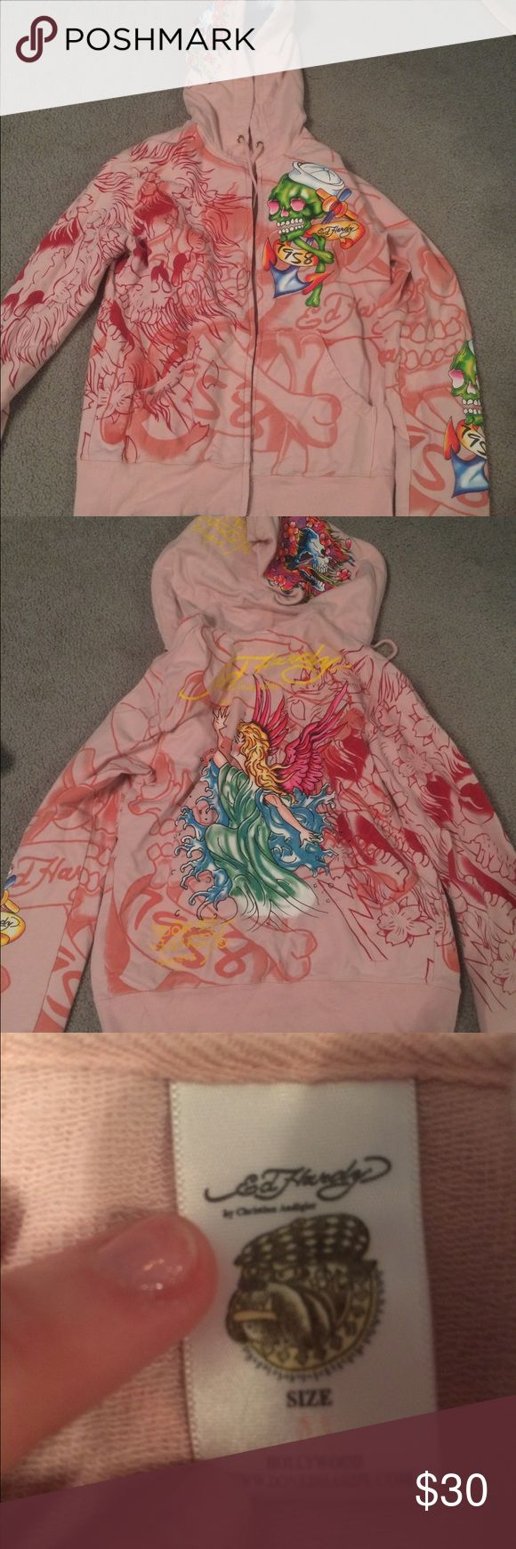 Ed hardy jacket Colorful Ed hardy jacket Ed Hardy Jackets & Coats
