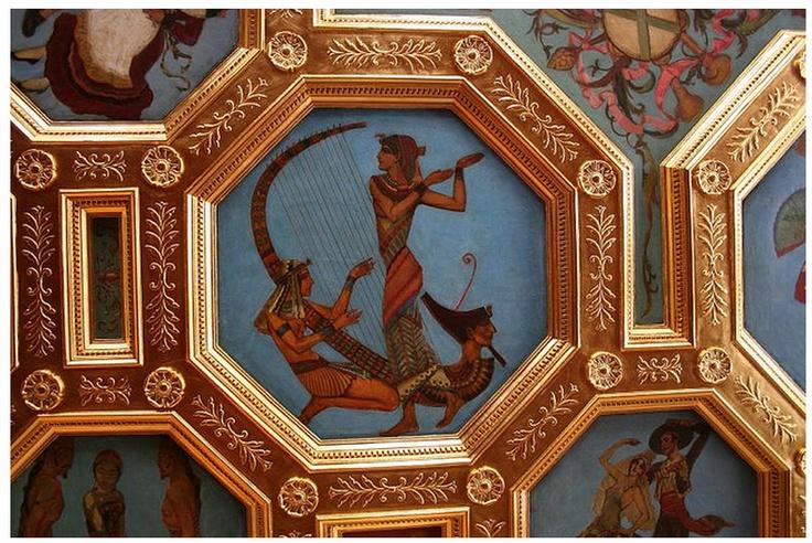 Ceiling of the ballroom at Cà d'Zan