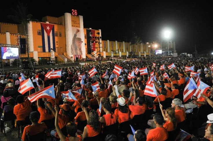 26 de Julio, Santiago de Cuba, 2015