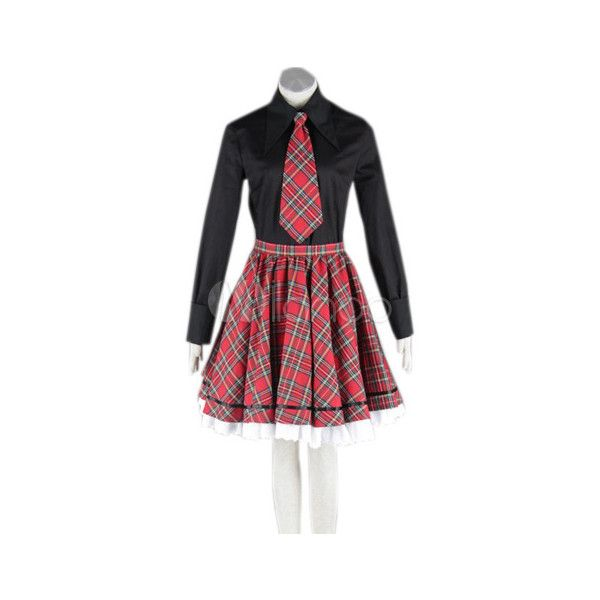 Lolita Schuluniform im englischen Stil,Cosplay Kostüm ❤ liked on Polyvore featuring costumes, cosplay, lolita, cosplay halloween costumes, cosplay costumes and role play costumes