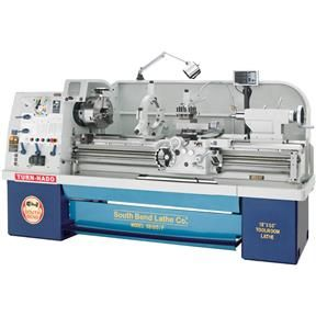 18' x 40' Electronic Variable-Speed Lathe with DRO in 2019