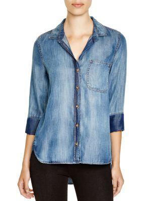 Bella Dahl Chambray Button Down Shirt | Bloomingdale's