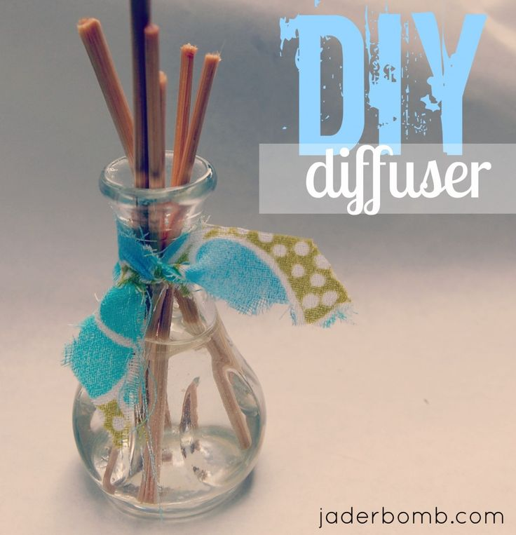 Homemade Reed Diffuser  Could you imagine filling with a winter oil!!! www.jaderbomb.com: Valentine Crafts, Diy Diffuser, Homemade Reed Diffuser, Crafts Ideas, Bamboo Skewers, Diy Essential Oil Diffuser, Homemade Diffuser, Christmas Gift, Diy Projects