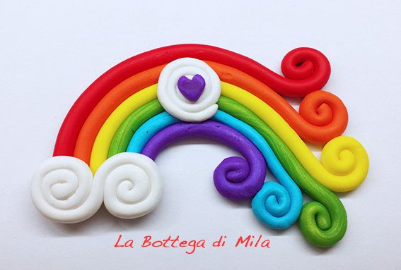 Bomboniera Rainbow Arcobaleno, matrimonio, unioni civili, unione civile, matrimonio gay, by La Bottega di Mila, 4,00 € su misshobby.com